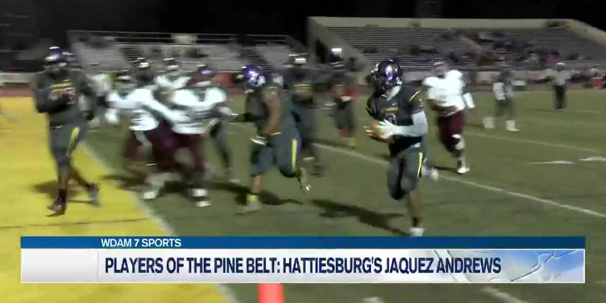Players of the Pine Belt: HHS' Jaquez Andrews earns expanded running back role
