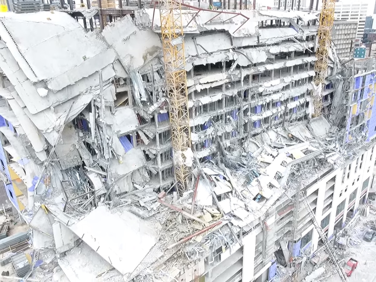 Officials update Hard Rock collapse; still in rescue mode with full investigation to come