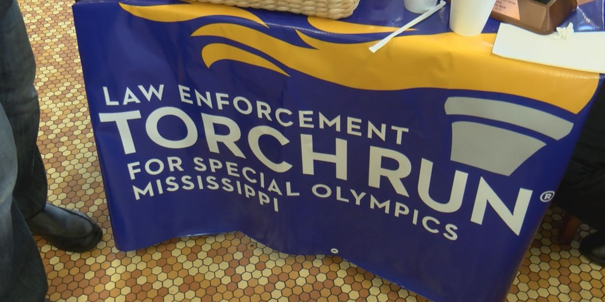 Law enforcement teams up with Special Olympics athletes