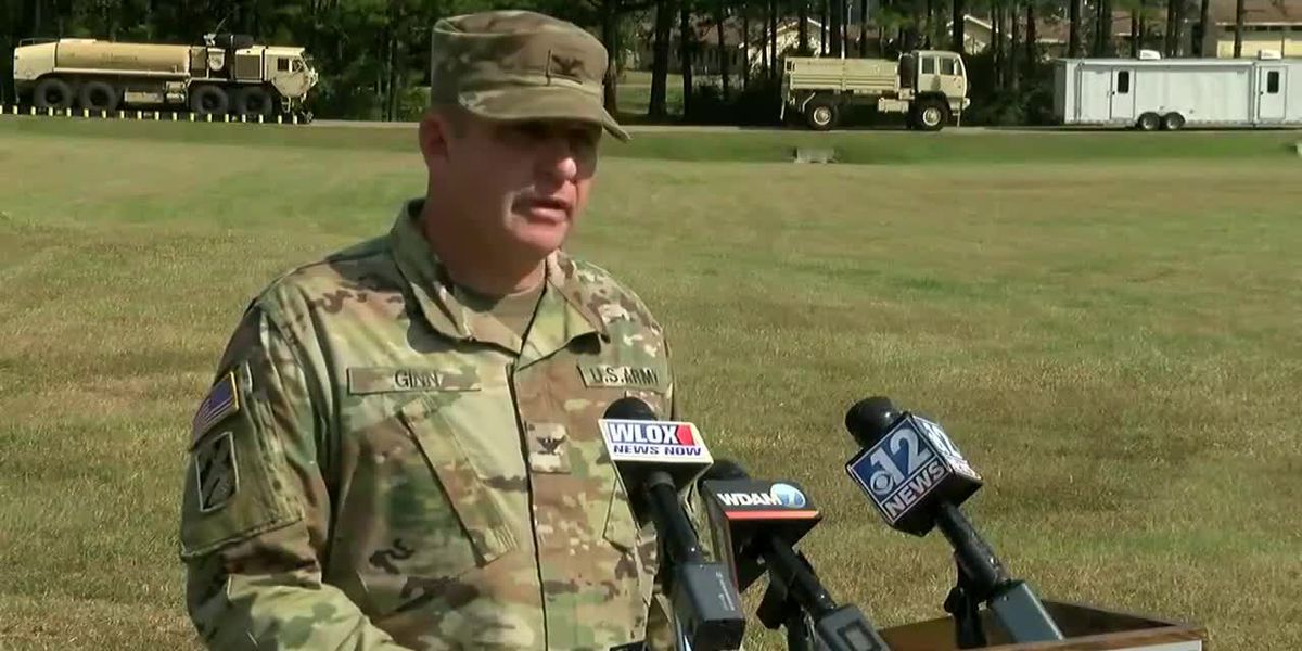 Miss. National Guard news conference on Camp Shelby training accident