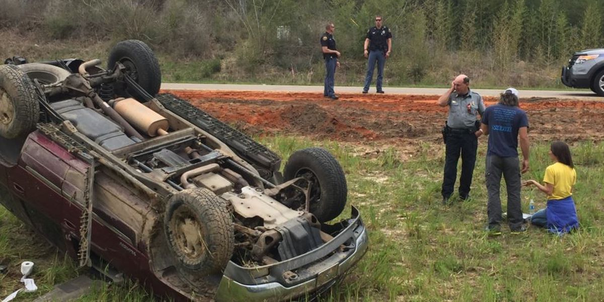 One injured in 18-wheeler accident