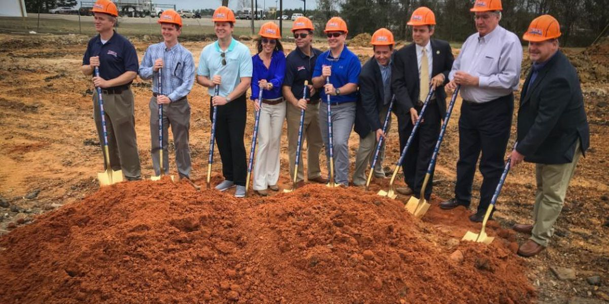 Walk-On's breaks ground on first MS location