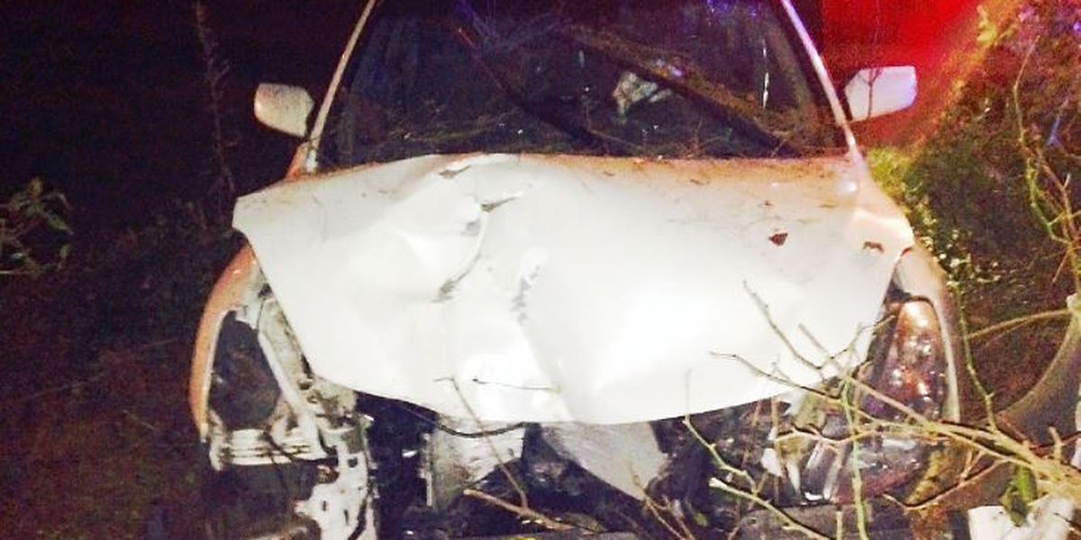 Jones County man seriously injured in one-vehicle accident