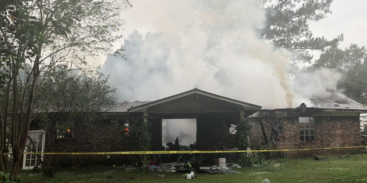 Officials investigating Ellisville house fire as possible arson