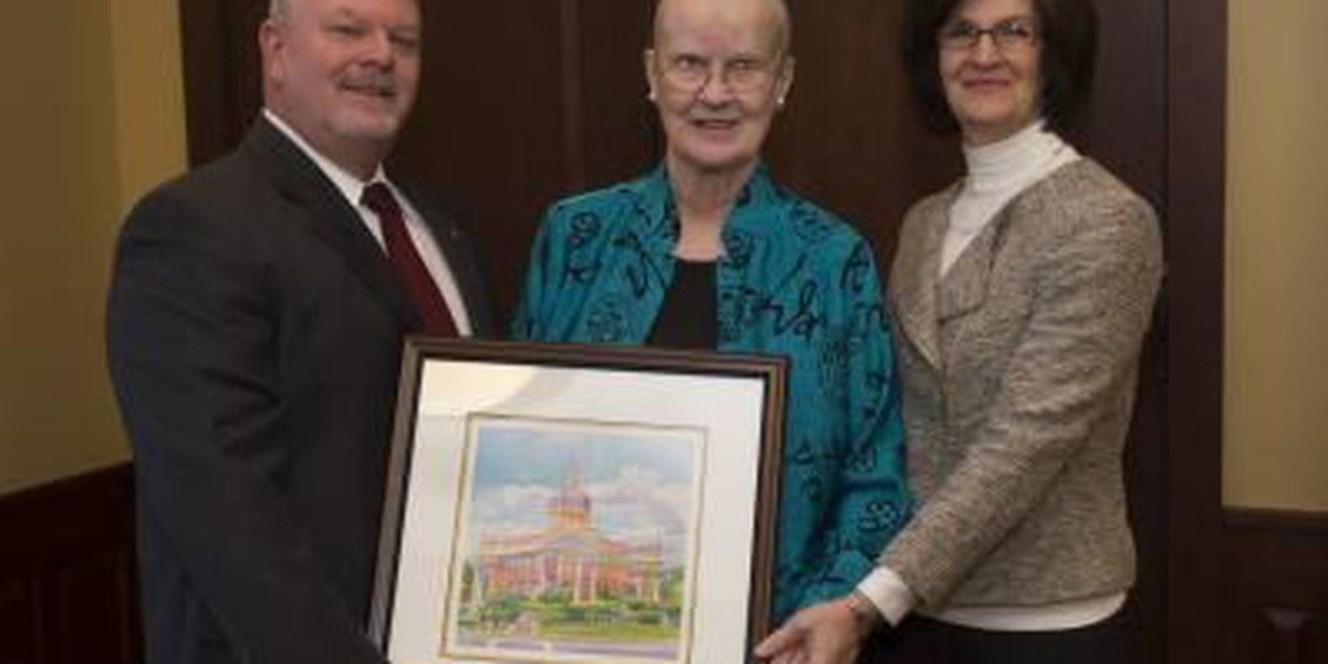 Reception held to honor distinguished professor Frances A. Karnes, announce $250,000 challenge gift