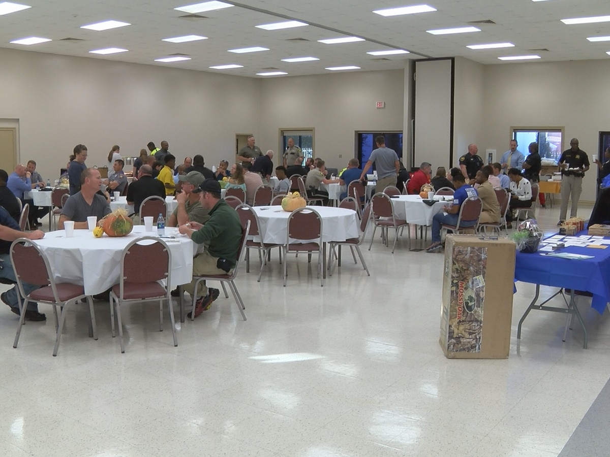 Pine Belt law officers honored at 4th annual appreciation dinner