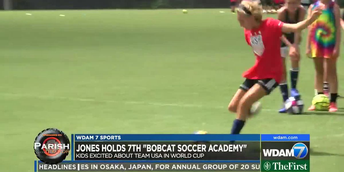 "Jones holds 7th ""Bobcat Soccer Academy"""