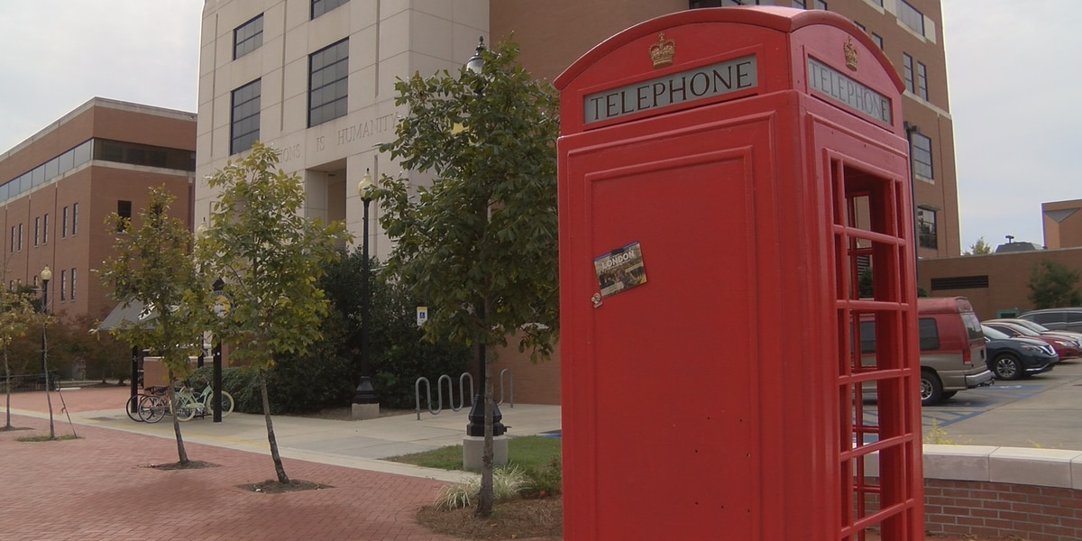 British phone box back on display at USM after years in storage
