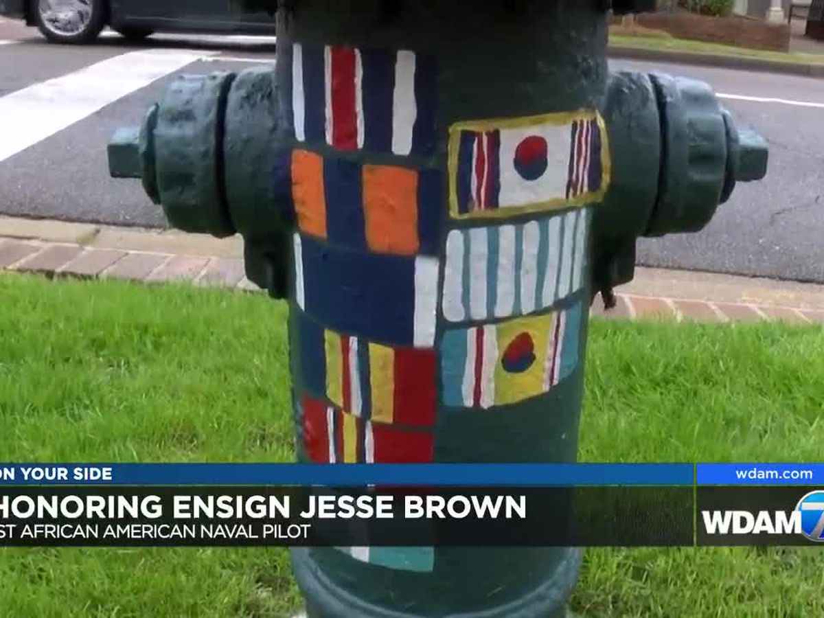 Hattiesburg honors late war hero Esign Jesse Brown