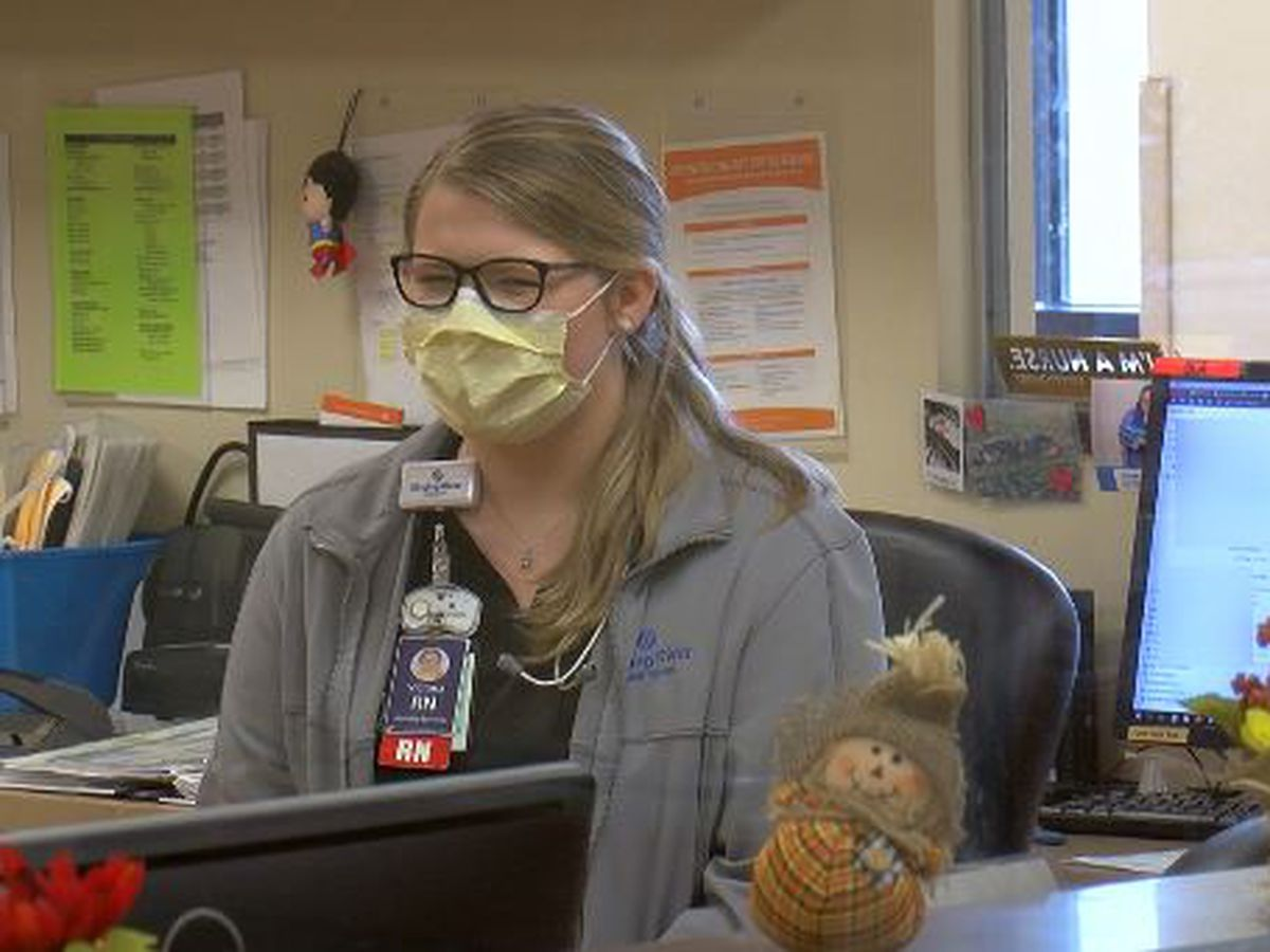 Healthcare workers just as thankful for patients this holiday season