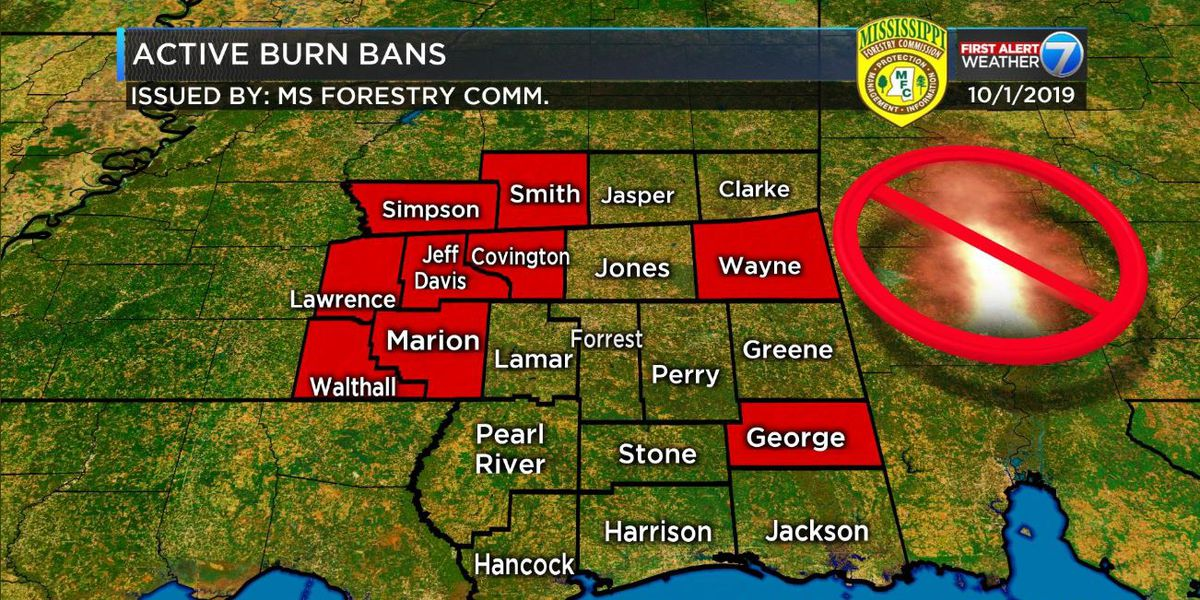 Miss. Forestry Commission urges Mississippians to stop outdoor burning