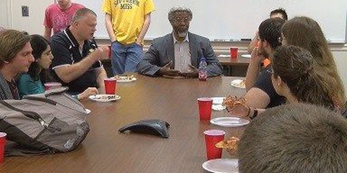 Renowned physicist James Gates talks science trends with USM students