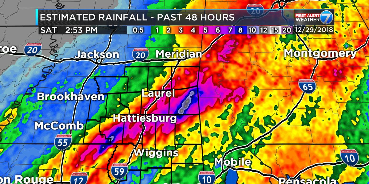 FIRST ALERT: Hit & miss showers to continue in Pine Belt, what you need to know