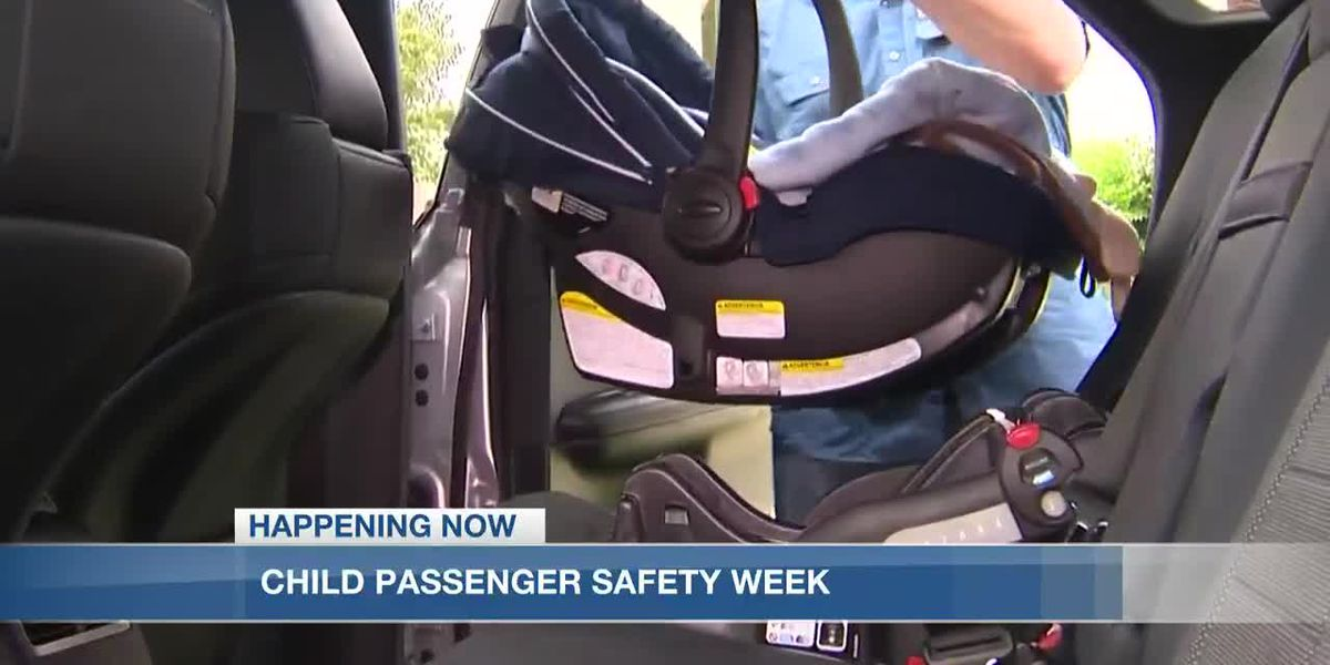 Learn how you can keep your kids safe during National Child Passenger Safety Week