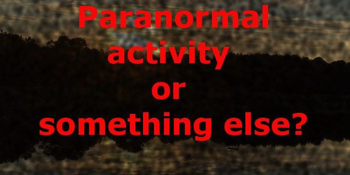 Paranormal activity in Jones County or something else?