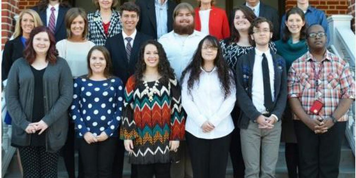 14 WCU students inducted into Sigma Tau Delta