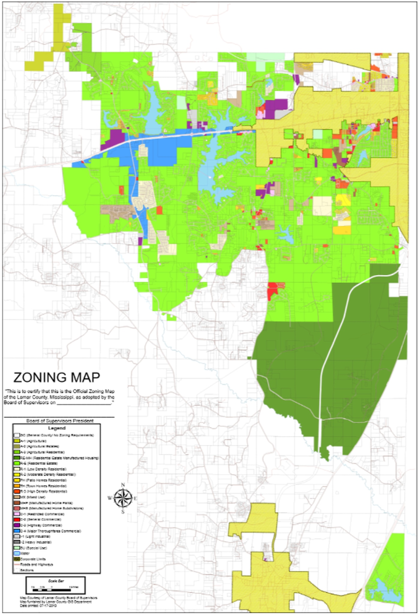 Lamar County makes small changes to zoning maps on hattiesburg city limits, hattiesburg ms flood maps, high point nc zoning maps,