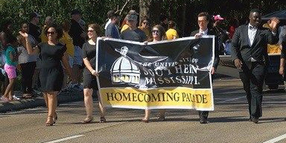 USM celebrates Homecoming 2017 with annual parade on Hardy Street