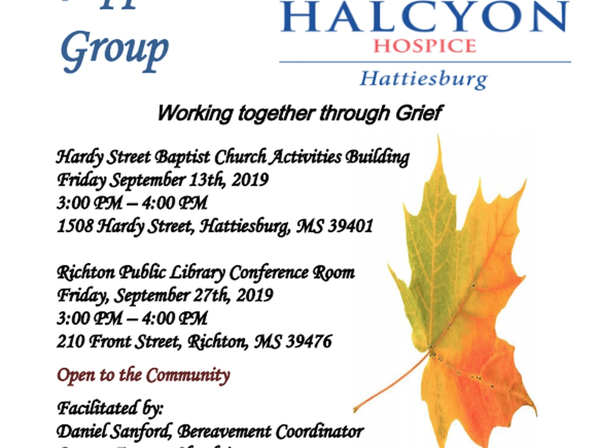 Hub City business hosts bereavement support group