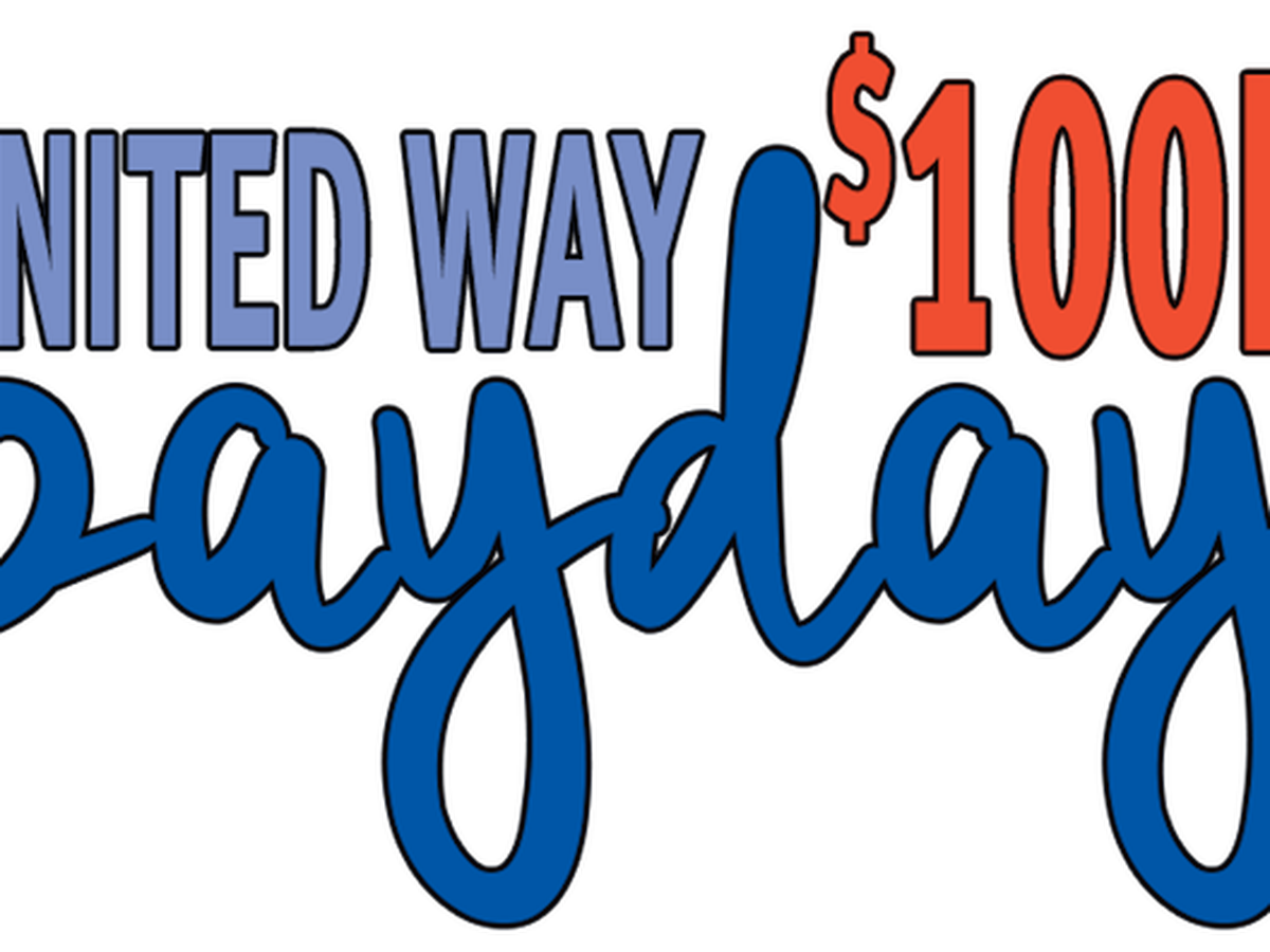 United Way announces $100K Payday winner
