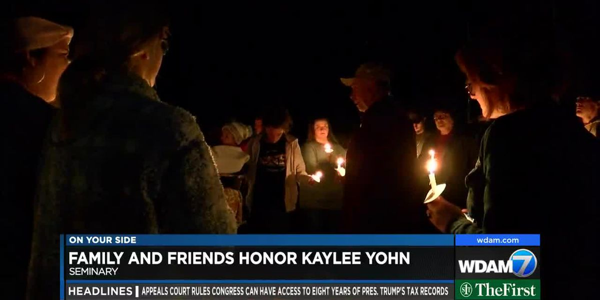 Community gathers for Kaylee Yohn memorial