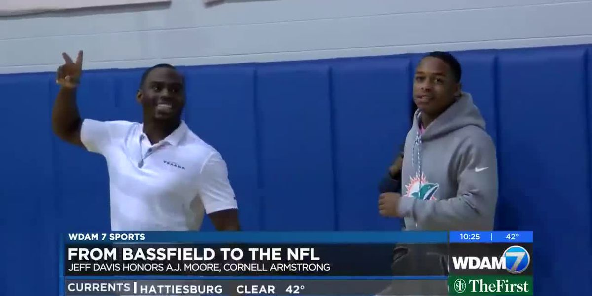 From Bassfield to the NFL - A.J. Moore and Cornell Armstrong