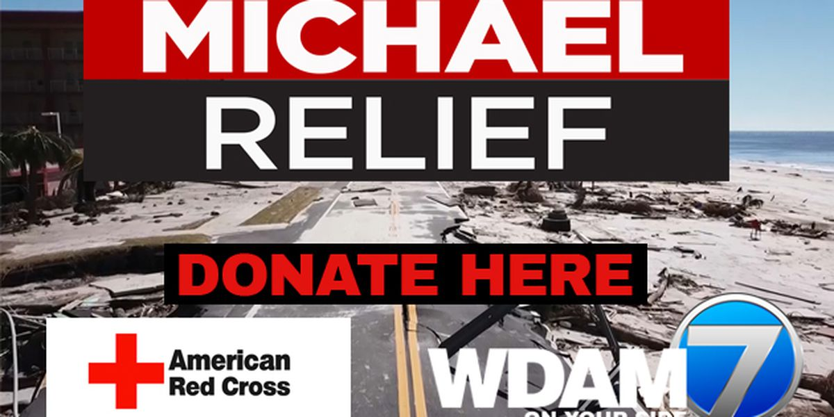 WDAM, American Red Cross team up to collect donations for Michael relief