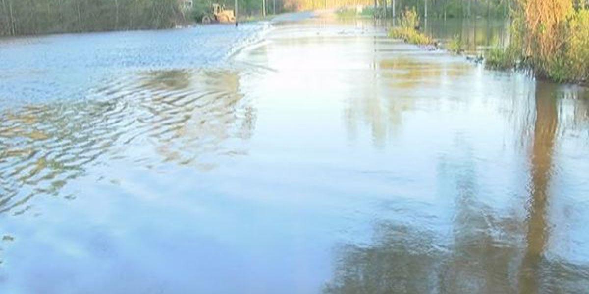 All roads open in Jones County