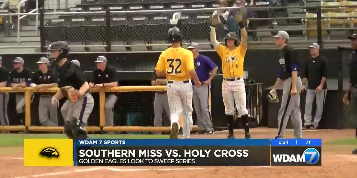 USM sweeps weekend series against Holy Cross