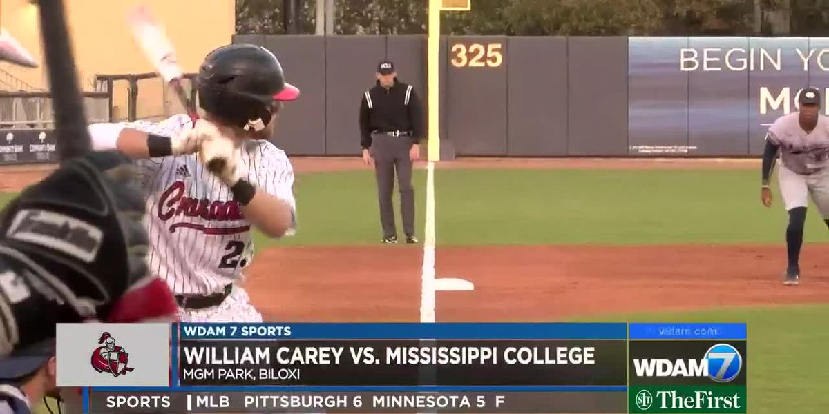 Carey beats Mississippi College 6-1 at MGM Park