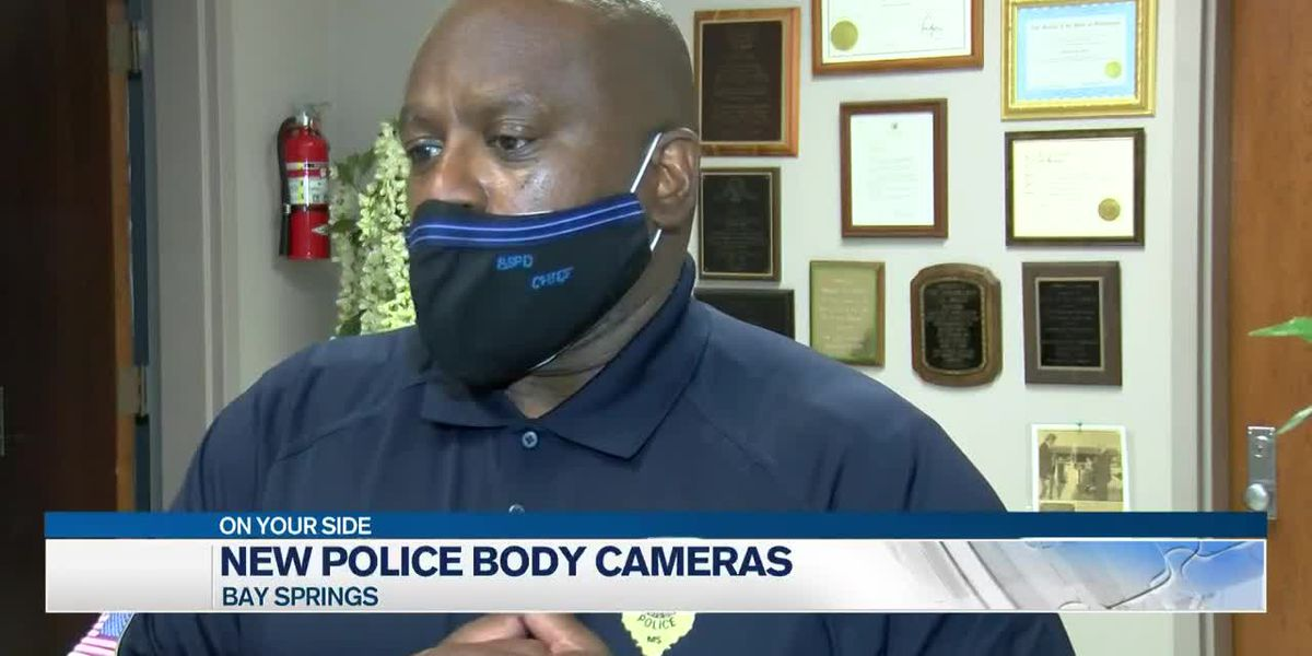 Bay Springs to purchase new body cameras for police
