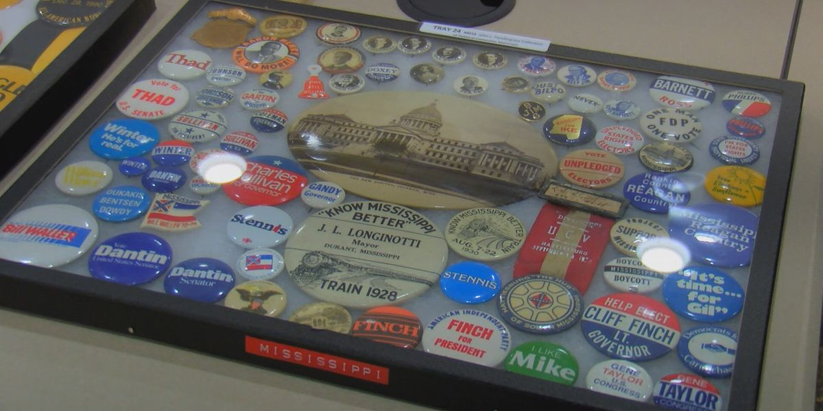 USM's McCain Library receives donation of Miss. political memorabilia