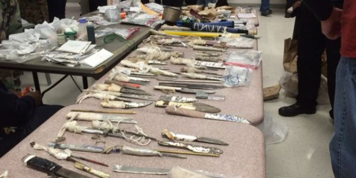 Shakedowns uncover contraband in prisons throughout Mississippi