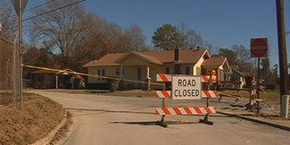 Paving project closes a portion of Providence Drive in Hattiesburg