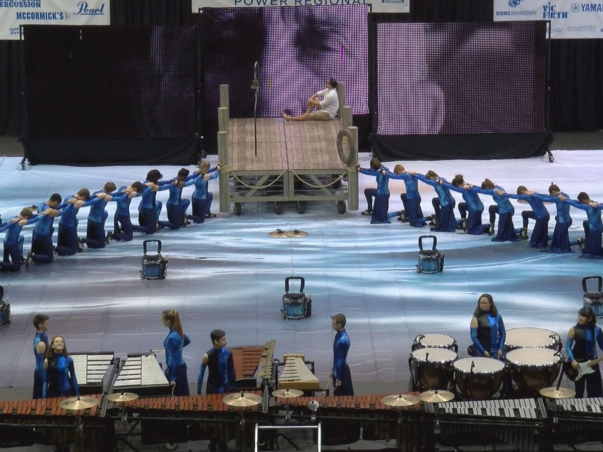 Petal band parents team up with WGI for regional competition