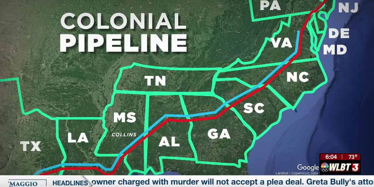 Colonial Pipeline shutdown could have impact on Mississippi gas prices