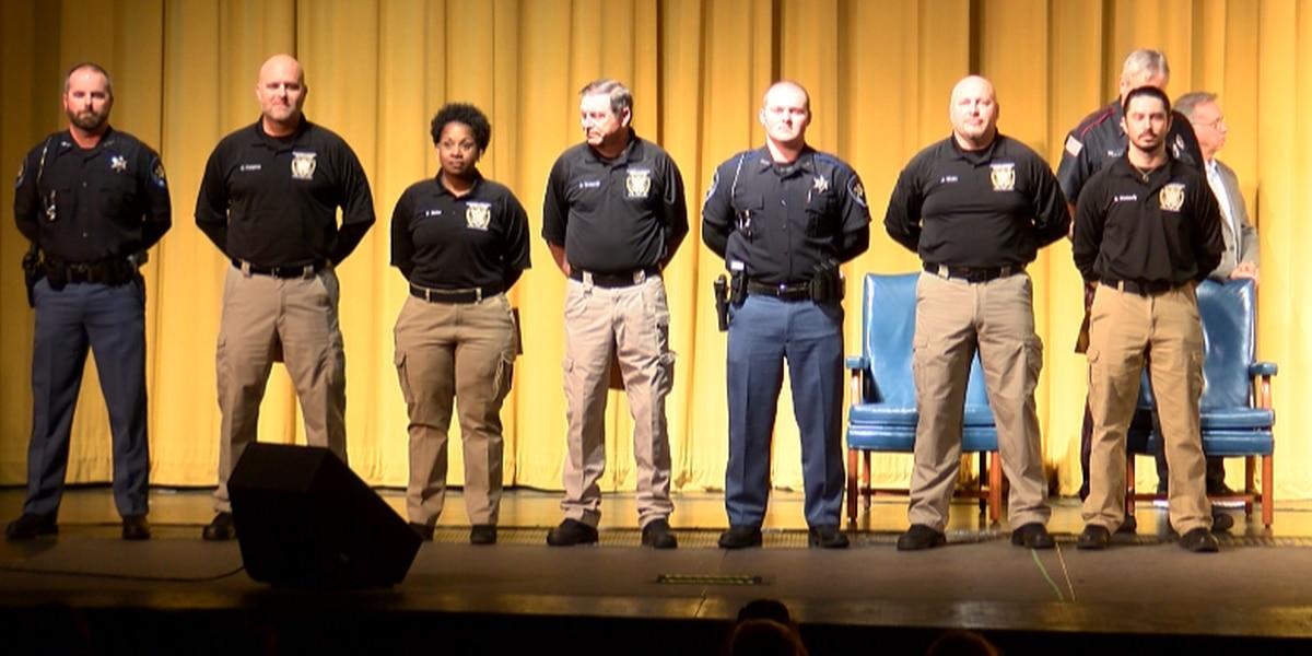 7 graduate from Sandersville Law Enforcement Training Academy