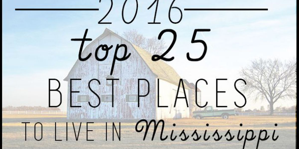 Website ranks best places to live in Mississippi for 2016