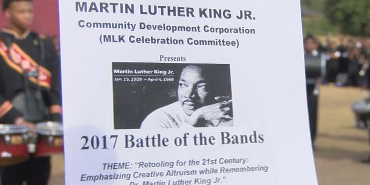 Battle of the Bands held for MLK Day weekend
