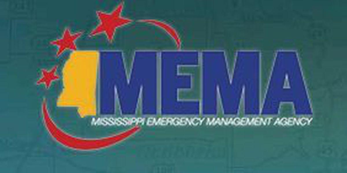 Storm damage reported to MEMA