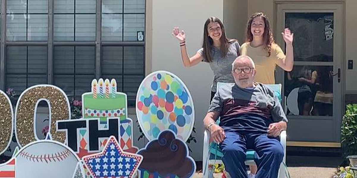 Community celebrates 100-year old Air Force veteran on his birthday