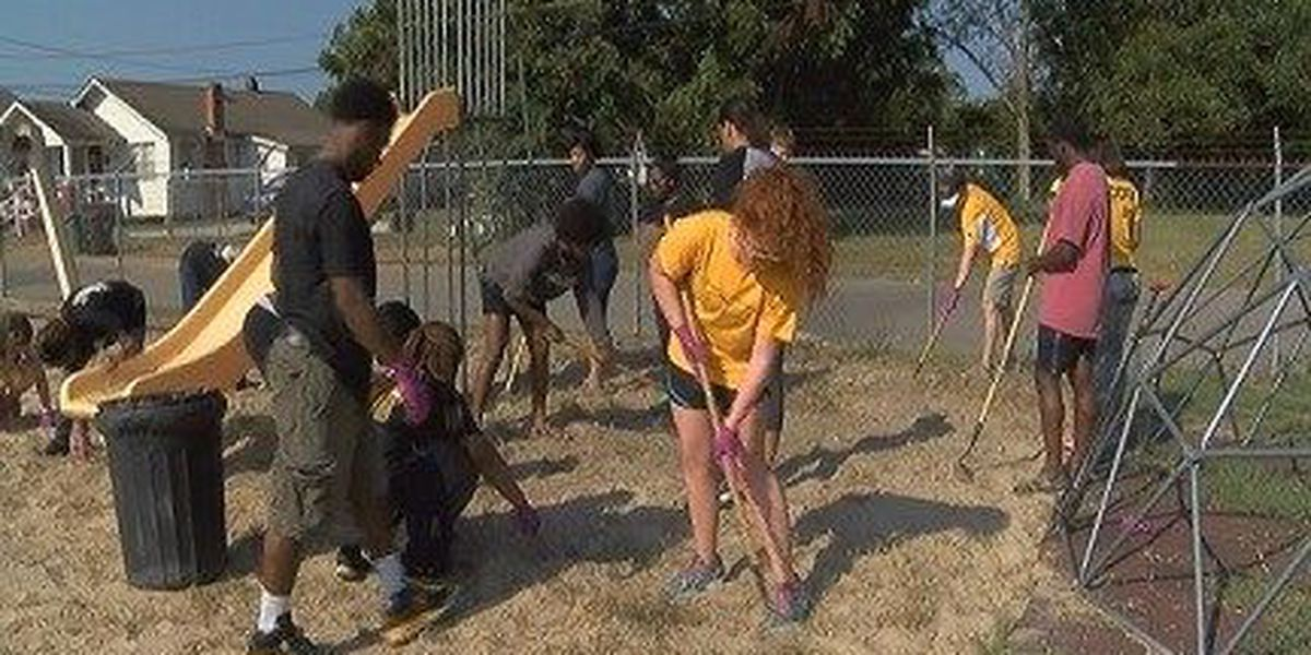 USM students perform community service as part of desegregation celebration