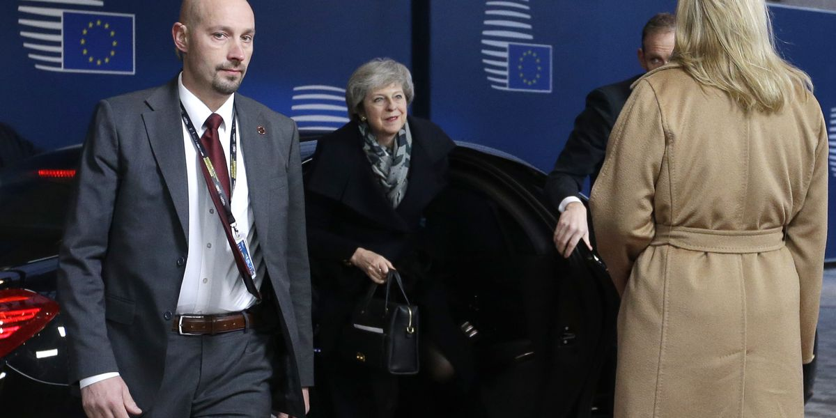 EU leaders vow to press on with 'no-deal' Brexit plans