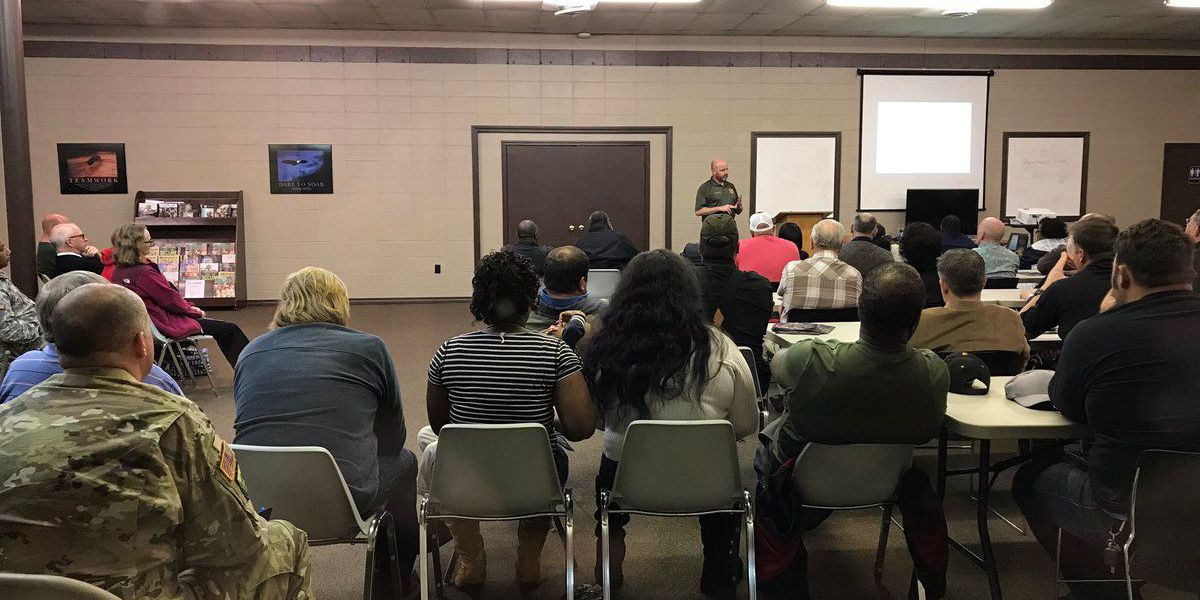 Jones County Sheriff's Dept. holds church security workshop