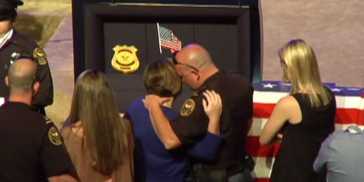 Visitation held in Hattiesburg for Officer Benjamin Deen