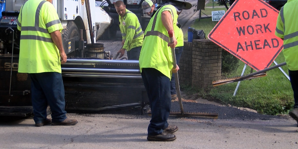Paving project underway in Forrest County