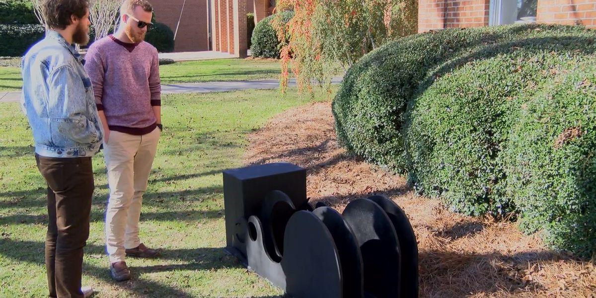 JCJC unveils two student designed sculptures