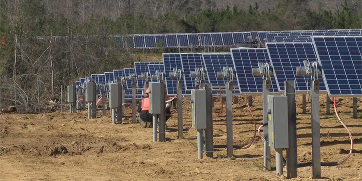 Lamar Co. solar farm to be completed by April