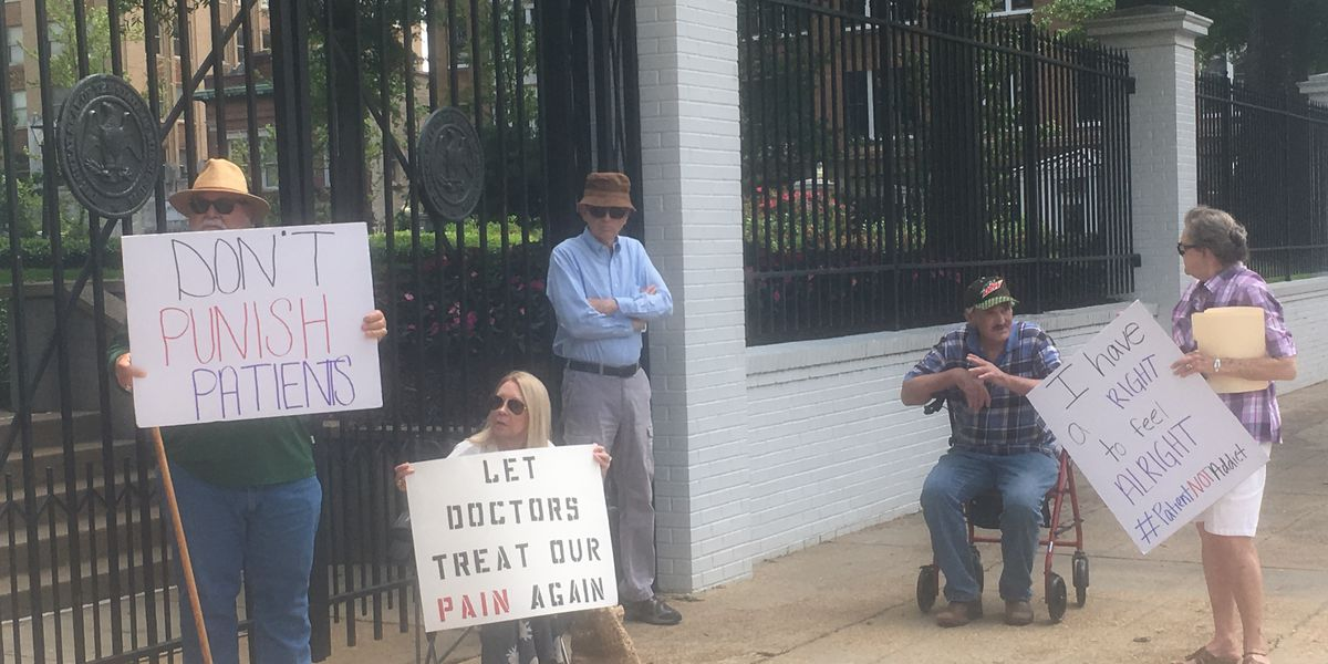 Don't Punish My Pain rally protests CDC pain medication regulations