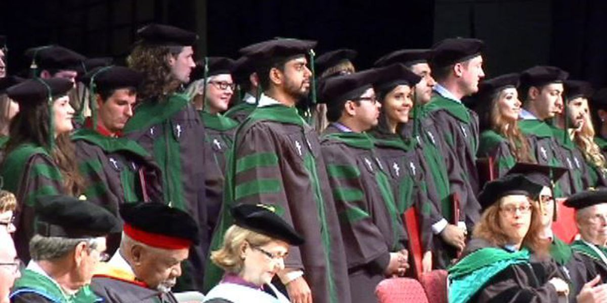 William Carey holds second medical school commencement